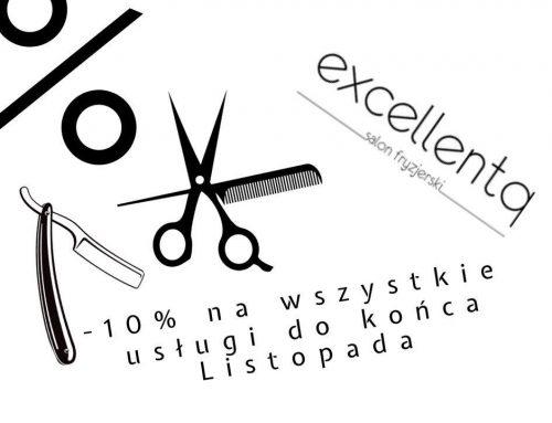-10% na wszystkie usługi do końca listopada